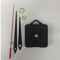 mecanismos de relógio mecanismos venda por atacado-Mecanismo de relógio de quartzo kit diy mecanismo para relógio peças relógio de parede de quartzo s mecanismo de reparação diy peças preto + mãos kk ...