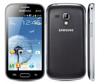 samsung telefon s7562 toptan satış-2016 Satış Doğrudan Satış S7562 Orijinal Samsung Galaxy S Duos S7562 Çift Sim Kartları 4.0 Wifi Gps 5mp Kamera Unlocked Cep telefonu
