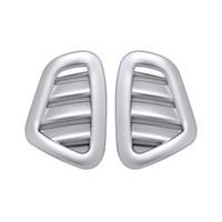 хромированные решетки оптовых-автомобиль вентиляционное отверстие крышка хром voiture вентиляционное отверстие крышка отделка автомобиля Декоративные стайлинга автомобилей аксессуары для Mercedes Benz E-Class W213 2016