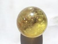 Wholesale Natural Yellow Citrine Crystals - 50-60mm natural Yellow rock Smoky Citrine ball healing energy magic Crystal quartz stone Sphere for Reik meditation