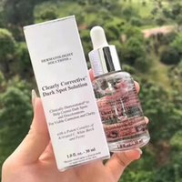 Wholesale spot brand for sale - Group buy Hot Sale famous brand Kiehl Clearly Corrective Dark Spot Solution VC Face Serum Essence ml Creams Lotion