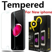 Wholesale For NEW Iphone XR XS MAX X J7 Screen Protector Film Tempered Glass For Samsung S9 Refine With Retail Package