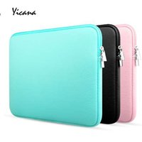 Wholesale 14 inch laptop ultrabook for sale - Group buy inch Sleeve Laptop case for HP MacBook Air Pro Ultrabook Notebook Tablet Protable bag Zipper Soft