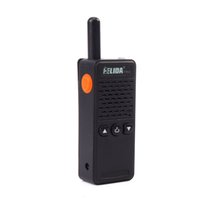 Wholesale professional handheld walkie talkie resale online - Super Mini Radio W CH Professional Handheld Two way Radio Mini Walkie Talkie with Headphone
