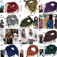 ingrosso arab scarf-Nuovo stile comune Sciarpe sportive all'aperto sciarpe magiche arabe Lo speciale scialle di testa di soldato libero fatto di puro cotone Sciarpe C0114