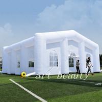 tienda inflable de la boda al por mayor-Carpa inflable gigante de la tienda de la carpa de la boda inflable al aire libre carpa inflable al aire libre del envío libre