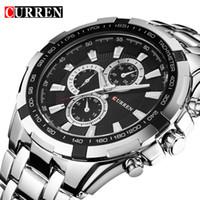 b3e82d03fb2 CURREN Men Watches Top Brand Luxury Men Sport Watches Waterproof Stainless  Steel Man Quartz Watch Mens Relogio Masculino 8023. 53% Off