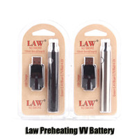 Wholesale multi chargers - Law Preheating VV Battery Charger Kit 350 650 1100mAh PreHeat O Pen Bud Touch Variable Voltage Vape Battery For CE3 G2 Cartridge