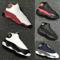 Wholesale toddlers boy shoes cheap - Cheap Children Basketball shoes Boys Girls 13 XIII Sneakers Youth Kids Sports Basketball Sneakers Toddlers Shoes 22-27