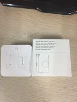 iphone controlado a distancia al por mayor-7-generation 7p Earphones Fox 100% Original OEM Auriculares con cable en los auriculares con micrófono y control remoto para 7plus 8 plus