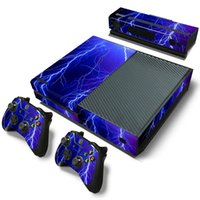 Wholesale Xbox One Console New - New Product Vinyl Decals For Microsoft xbox one Console and 2 Controllers Cover Skin Stickers