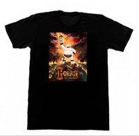 18 téléviseurs achat en gros de-GOLAN L'Insatiable Shirt 18 T-shirt TV Horreur De Bande Dessinée Goth Pentagram SatanMen Streetwear T-Shirt