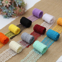Wholesale accessories for clothes decoration - Multi Colors Lace Ribbon 4.5cm DIY Craft Clothing Headwear Accessories For Wedding Party Decorations Hot Sale 2 5tn CB