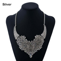 ingrosso bomba da diamante-Collana girocollo bavaglino dichiarazione ragazza diamante lega di moda femminile