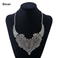 elmas bib toptan satış-Kadın moda alaşım elmas kız bildirimi önlüğü gerdanlık kolye