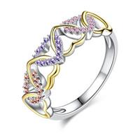 Kaufen Sie Im Grosshandel Billige Silberne Hochzeit Ringe 2019 Zum