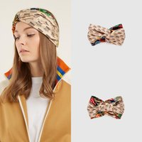 Wholesale embroidery silk scarves - 2018 New Designer Silk Heaband Hair Bands For Women Fashion scarf Luxury Brand Embroidery Headbands Best Quality free ship