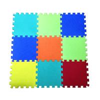 Wholesale interlocking foam flooring for sale - 10PC Baby EVA Foam Puzzle Play Mat Combo Plain