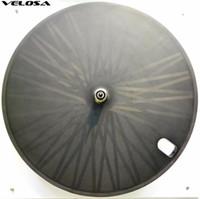 disk gönderimi toptan satış-Tam karbon bisiklet disk tekerlek, kattığı / boru şeklindeki disk tekerlekler için Parça bisiklet / Triatlon bisikleti / Zaman Deneme bisiklet karbon disk tekerlek
