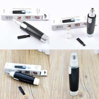 Wholesale clean nose hair for sale - Portable Nose Hair Trimmer Neat Clean Trimer Nose Ear Face Removal Shaving Hair Trimmer Electric Shaver Clipper Cleaner Tool