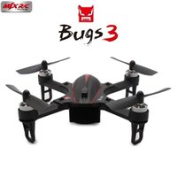 Wholesale quadcopter gopro resale online - Mjx B3 Bugs Brushless RC Drone mm Mini Helicopter Quadcopter RTF Motor axis Gyro Camera Mount for Gopro Xiaomi yi Camera