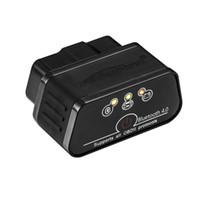 herramientas de diagnostico profesional chevrolet al por mayor-Escáner Bluetooth 3.0 OBD2, Android y Windows Dedicada OBD II herramienta de diagnóstico de diagnóstico del coche con interruptor Auto Sleep y APLICACIÓN profesional gratuita