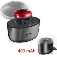 auriculares micro invisibles al por mayor-K3 Auricular Bluetooth con base de carga inalámbrica Deportes Mini Micro auricular Bluetooth invisible con estéreo en la oreja Espera larga