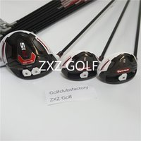 Wholesale Left Handed Drivers - R15 left hand golf clubs complete set men Golf Drivers Fairway irons club men R15 M2 G400 putters wedge graphite shaft
