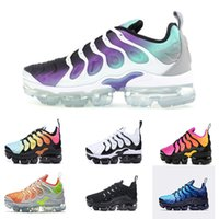Wholesale pink lace up flats - Vapormax TN Plus Men Basketball Shoes Olive In Metallic White Silver Colorways Shoes Men For Running Male Shoe Pack Triple Black Mens Shoes