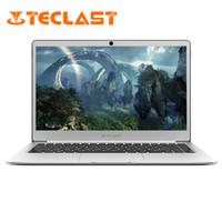 notizbuch quad großhandel-Laptops Teclast F7 Windows 10 14-Zoll-Notebook Intel HD 1920 * 1080 1,1 GHz Quad Core 6 GB RAM 128 G ROM SSD M.2 Tastaturen Tablets