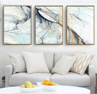 Wholesale psychedelic art - Modern Simple Abstract Psychedelic Line Art 3 Pieces Canvas Painting Poster Home Decoration for Living Room No Framed