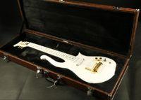 ingrosso kit chitarra elettrica solido-hign end Qualità sh pickup bianco principe set in collo verniciato fretbard principe Chitarra elettrica chitarra tutto il colore accettare