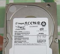 seagate hdd için toptan satış-Seagate 73G / 73GB ST373405FC 10K U160 FC için% 100 Test Çalışması Mükemmel