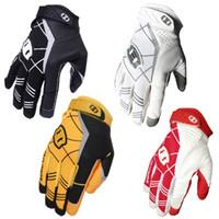 guantes xs al por mayor-seibertron Guante receptor deportivo Guantes de fútbol americano Guante de rugby Juvenil y adulto Tamaño XS S M L XL Color negro