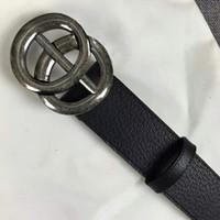 calzado de hombre al por mayor-Las cinturillas de negocios de diseño de alta calidad importan realmente cuero de moda calzado de gran casco cinturones de correa para hombres con caja