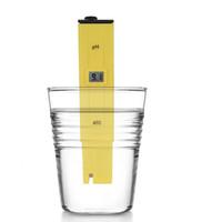 ingrosso tipi di test idrici-10 pz / lotto Eccellente Pocket analizzatore di tipo display digitale ph Meter piscina di qualità dell'acqua tester test di acidità