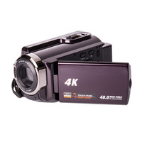 Wholesale hdd cameras - 48MP 4K Camcorders, 4K Ultra-HD Portable 30FPS Wifi Digital Video Camera, IR Night Vision Camcorder