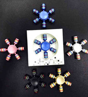 Wholesale Eva Foam Finger - NEW Rainbow Fidget Spinner Finger Spinner Hand Spinner ABS Spiner Comes Anti Relieve Stress Toys Figet Spiner If You Like This Item,Please