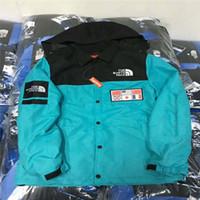 askeri ceket rahat toptan satış-Erkek Ceket 2019 Kış Yeni Moda Harita Desen Hoodies Noctilucent Rahat erkek Ceket Hoodie Ceket Askeri Yansıtıcı *