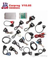 Wholesale Carprog Nissan - Carprog V10.05 Carprog Full Set (With All 21 Items Adapters) Professional Comprehensive Auto repair scan tool upgrade of V9.31 carprog