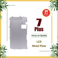Wholesale replacement plates - LCD Digitizer Metal Back Plate Shield Bezel For iPhone 7 Plus 5.5 inch LCD Display Replacement Parts