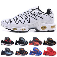 newest 84c4a dce27 Nike Air Max Plus TN Runinng shoesaClassic Triple Black Gold TN Men Running  shoes Breathable Mesh Chaussures Homme Tn REqUin Noir mens trainer designer  ...