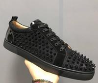 e1b6bf6771292 zapatos de marca baratas al por mayor-2018 Venta caliente Nombre Marca Red  Bottom Sneaker