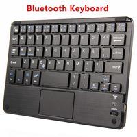 huawei tablets pc venda por atacado-Teclado Bluetooth Para Huawei MediaPad T3 7 8 Tablet PC T1 7.0 T2 7.0 Pro T27.0 Caso Teclado Sem Fio Android Windows Touch Pad