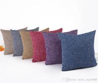подушки на заказ подушки оптовых-обычная мягкая подушка для подушки пустая полноцветная диванная подушка 45 * 45cm spandex hold pillow custom your design print pattern wholesale.