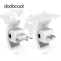 ingrosso rete wireless g-dodocool N300 WiFi 802.11b / g / n Network Wireless Range Extender 2.4 GHz 300 Mbps Dual Antenne AP Wps