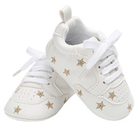 маленькие девочки оптовых-Baby Casual Shoes for Boys Girls Flats Little Kid Sneakers Rubber Sole Newborn Gear Infant Tennis Toddler PU Leather Moccasins
