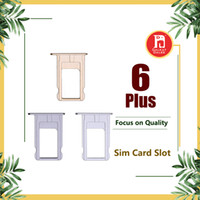 "Wholesale nano sim card tray - For Iphone 6 Plus Nano SIM Card Slot Tray Holder Replacement Part Adapter Kit Fix Spare Parts for 5.5"" Gray Gold Silver"