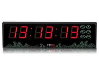 ingrosso orologio del conto alla rovescia del display principale-[GANXIN] Timer multifunzione da 1,5 pollici a 6 cifre Batteria utilizzata Display a LED Desktop Countdown Clock con telecomando
