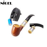 coole e zigaretten großhandel-Nigel Cool E PIPE 618 Abnehmbare 900mAh Elektronische Zigarettenpfeife kit mit 2.5ml Bottom Coil Heizung Zerstäuber Vape Mod Rohr